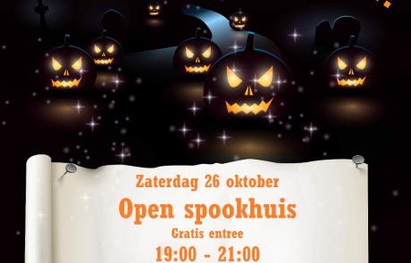 Open spookhuis Scouting Naaldwijk