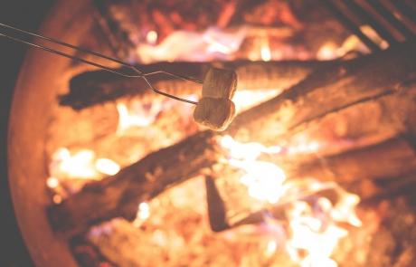 zomerkamp-scouting-kampvuur-marshmallow