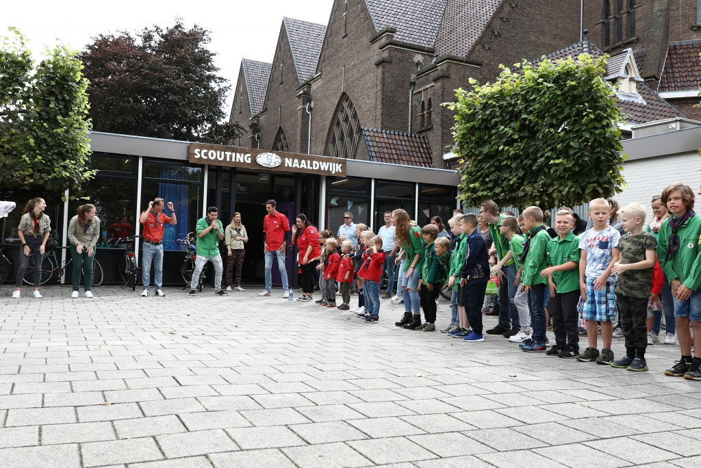 Start seizoen Scouting Naaldwijk